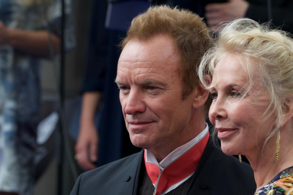 Sting i jego żona pomogą restauratorom