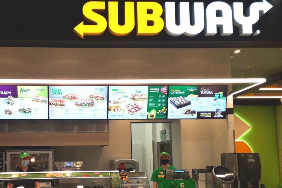 Subway poszerza wege menu