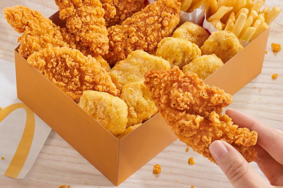 Nowości w McDonald's: Supreme Cripsy Chicken Tenders i Chicken Box