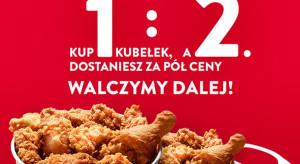 Kubełek KFC reaguje na przegraną Polaków