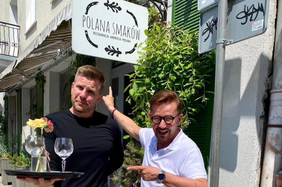 Filip Chajzer kelnerem w Polanie Smaków