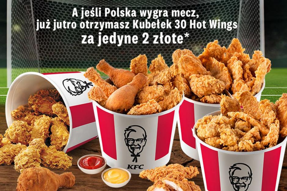 KFC Kubełek Kibica. Jeśli Polska wygra mecz, duża promocja