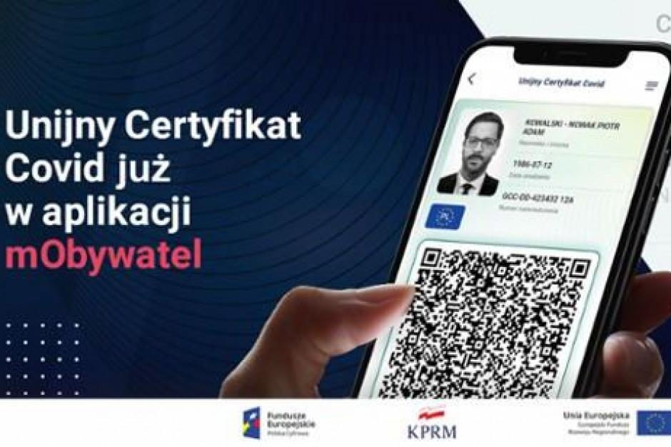 Paszport covidowy dostępny dla Polaków