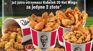 KFC z ponowną promocją kubełków w przypadku wygranego meczu