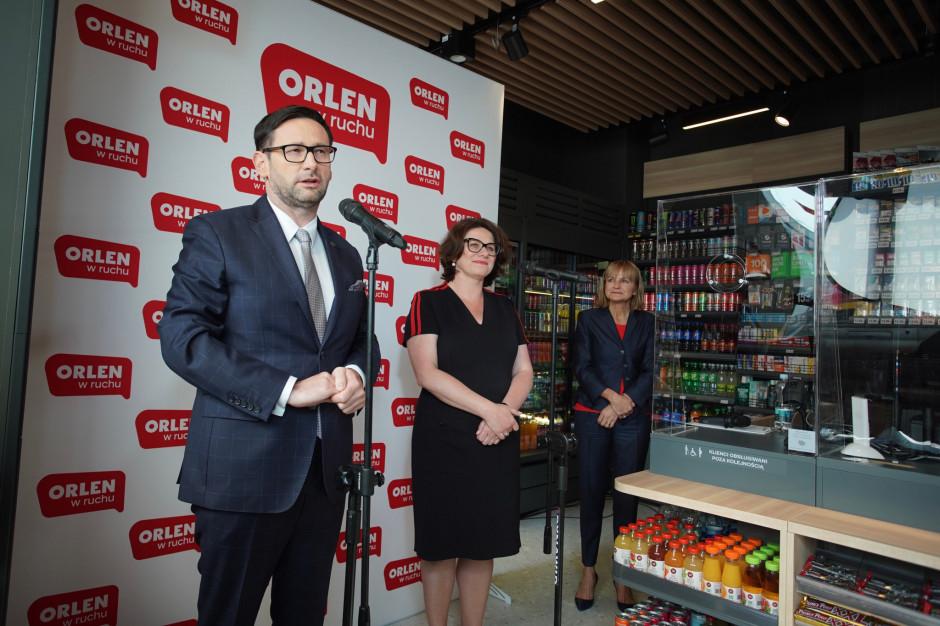 """PKN Orlen otworzył pierwszy punkt """"Orlen w ruchu"""""""