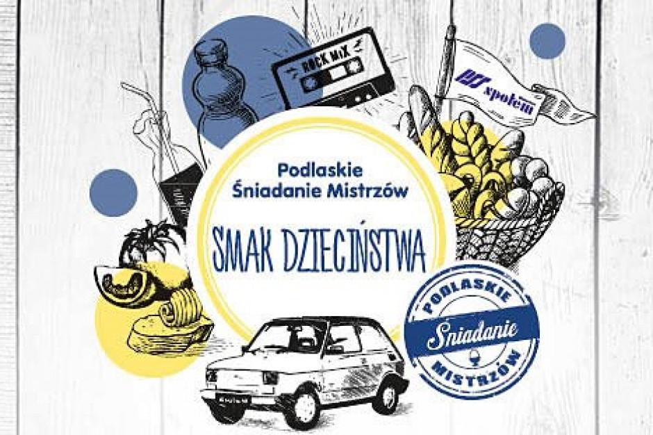 17 lipca i 21 sierpnia Podlaskie Śniadanie Mistrzów w Białymstoku