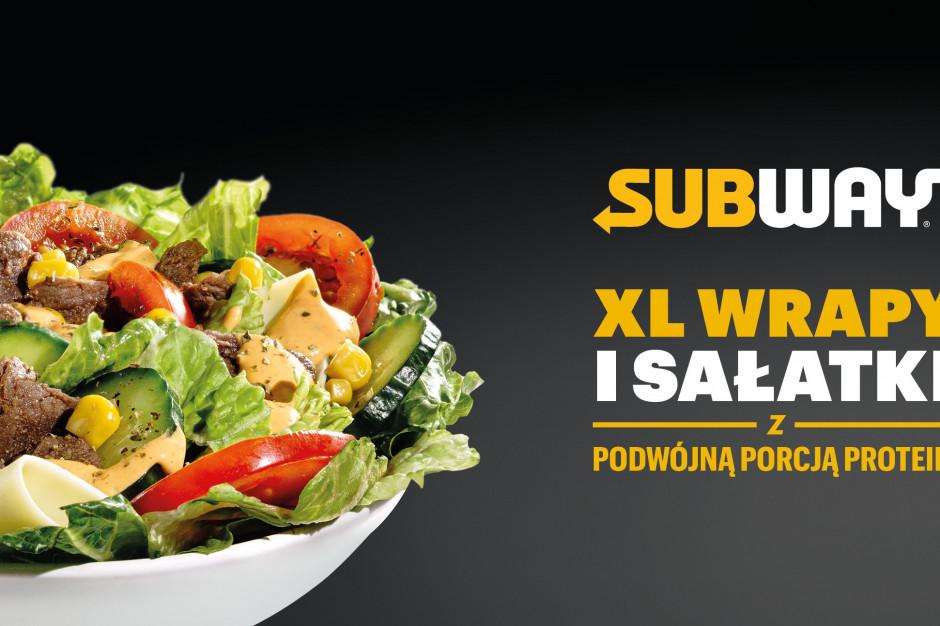 Subway powiększa menu o wrapy i sałatki w rozmiarze XL