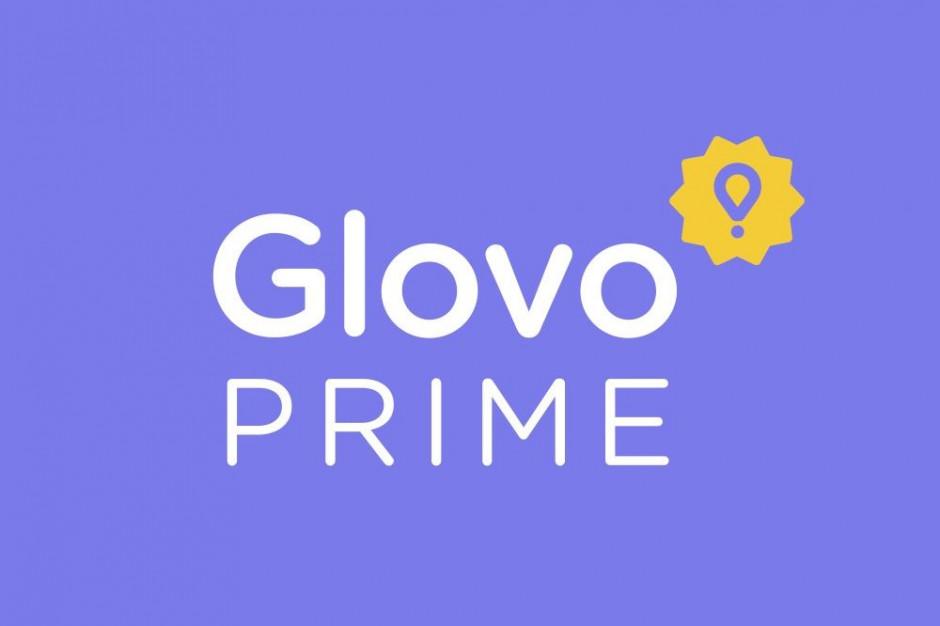 Glovo Prime - abonament na dostawy z lokali i sklepów