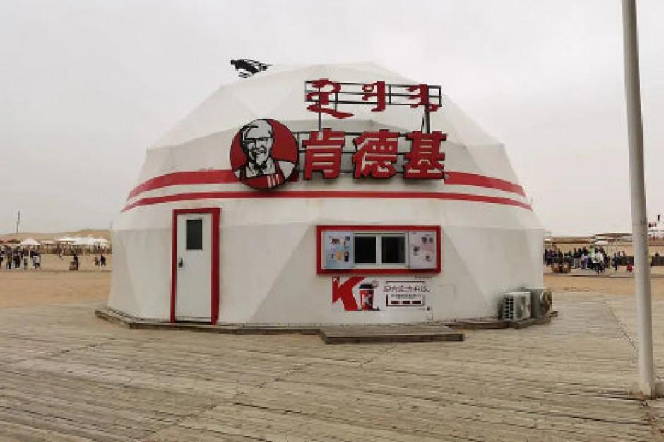 KFC otworzył lokal w kształcie jurty w Mongolii