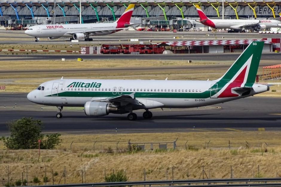 KE zatwierdziła 39,7 mln euro pomocy dla linii lotniczych Alitalia