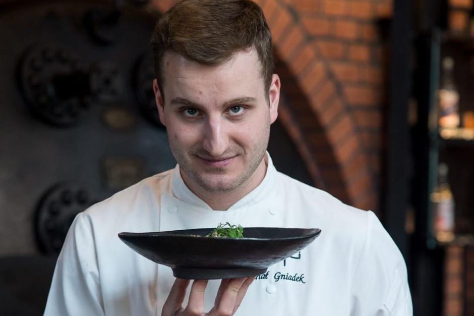 Michał Gniadek nowym szefem kuchni restauracji Klonn