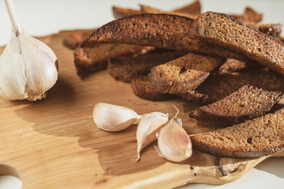 Smażony chleb żytni