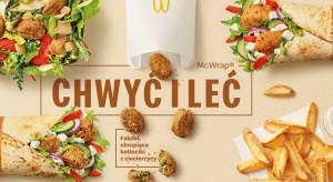 Falafel wchodzi do McDonald's