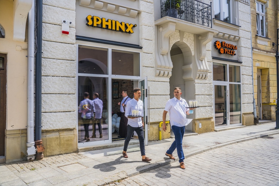 Sfinks: 5 restauracji franczyzowych od czasu odmrożenia gastronomii