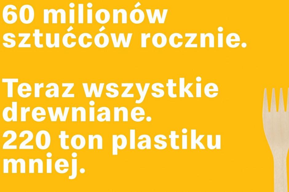 McDonald's: drewniane sztućce we wszystkich restauracjach w Polsce