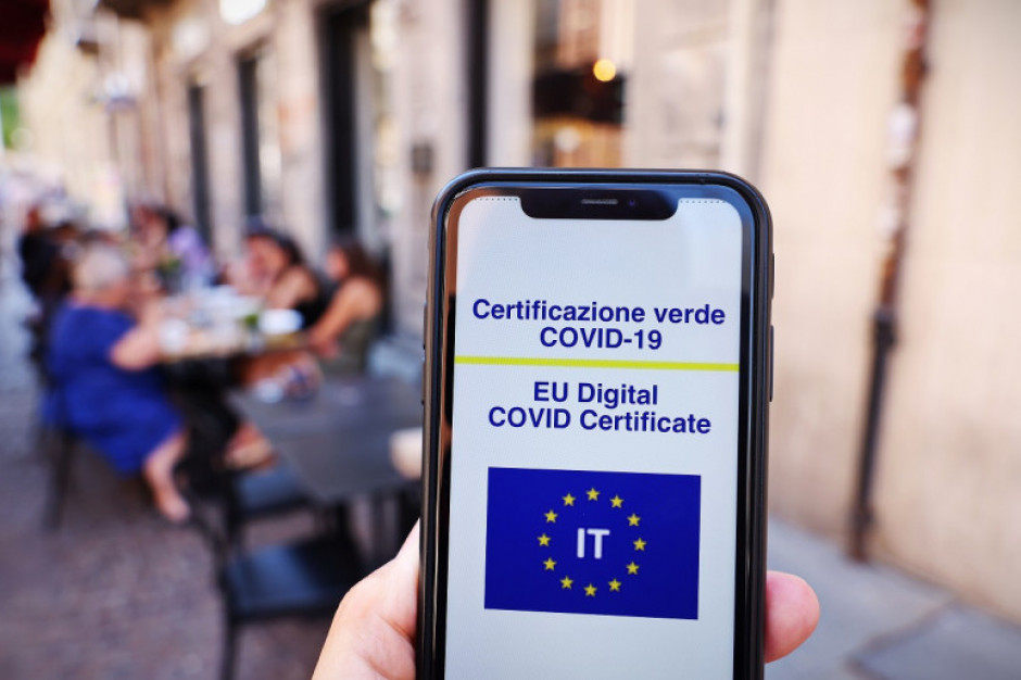 Problemy z odczytaniem przepustek Covid-19 we Włoszech