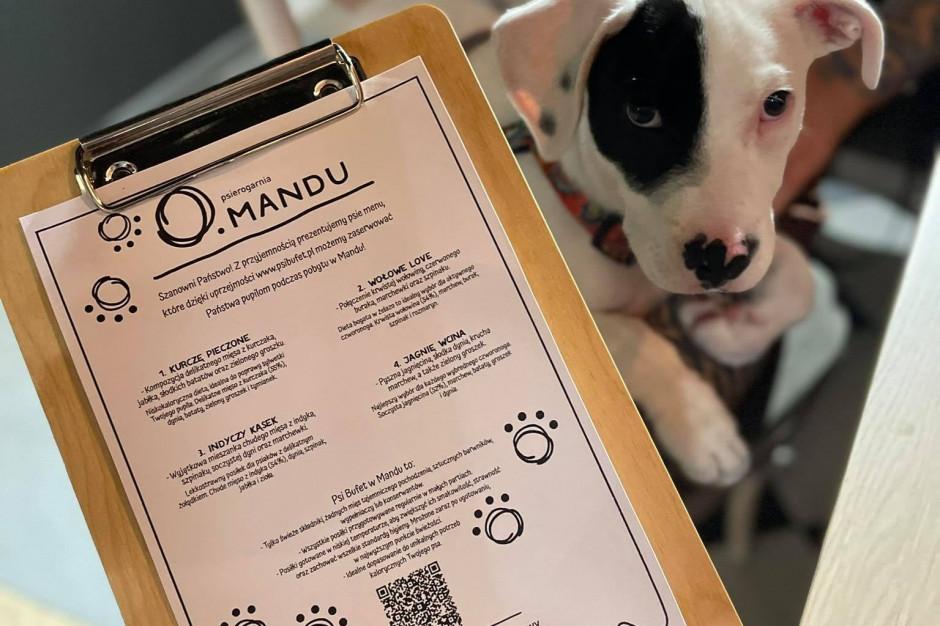 Polskie restauracje wprowadzają menu dla psów