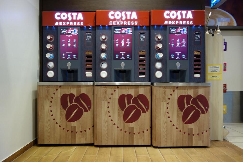 Coca-Cola HBC przejmuje część Costa Coffee w Polsce
