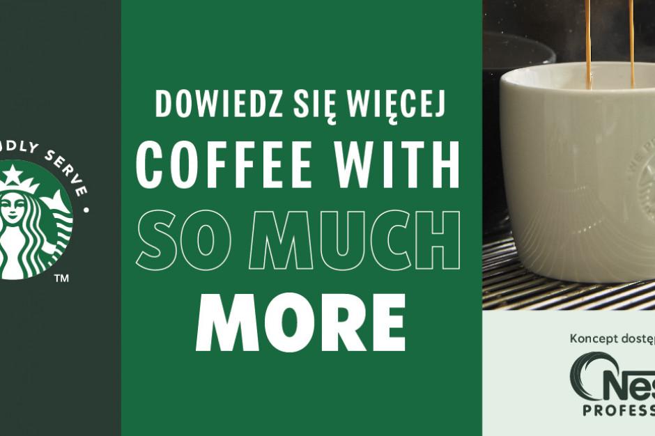 Nestlé startuje w Polsce z ofertą We Proudly Serve Starbucks®