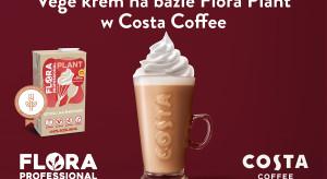 Produkty Upfield Professional na stałe w Costa Coffee
