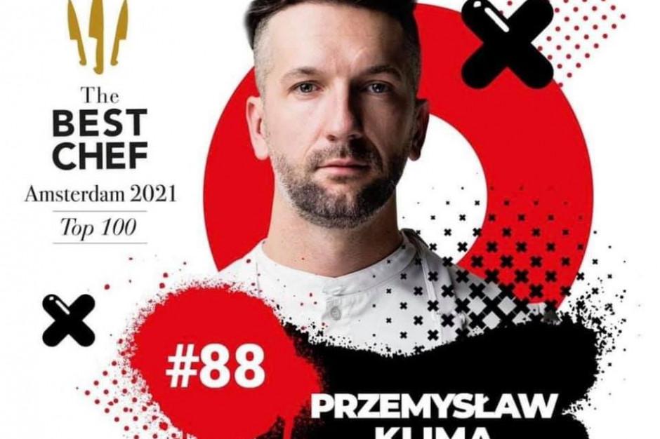 Przemysław Klima wyróżniony w prestiżowym konkursie The Best Chef Awards