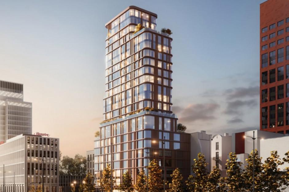 Mieszkania zamiast hotelu? Nowy pomysł na wieżę w centrum Łodzi