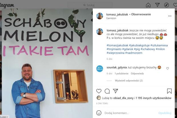 Tomasz Jakubiak otwiera nową restaurację w Gdańsku