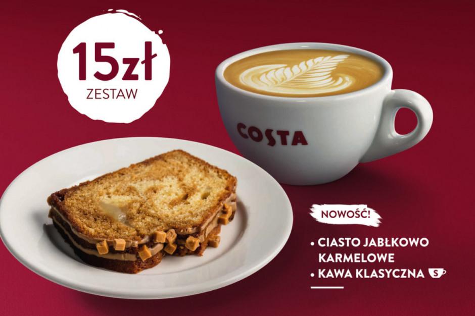 Jesienne menu w kawiarniach Costa Coffee