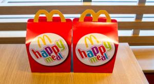 McDonald's rezygnuje z plastiku w zestawach Happy Meal