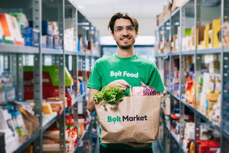 Bolt Food ruszył w Estonii z usługą Bolt Market