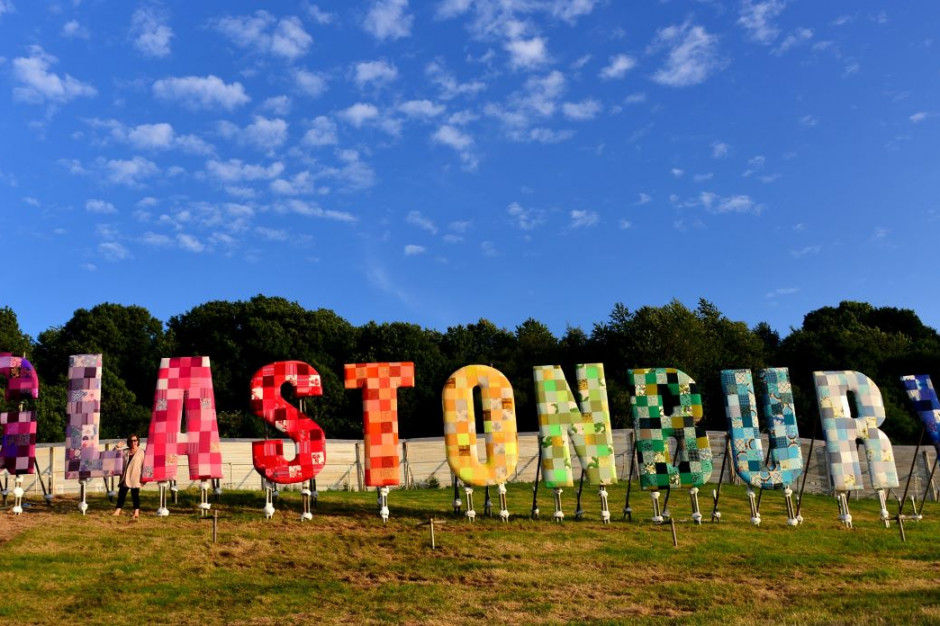 Glastonbury: po festiwalu groźny poziom narkotyków w rzece