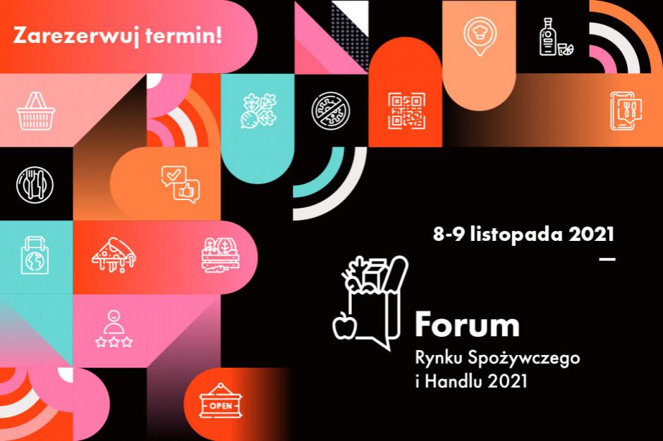 Forum Rynku Spożywczego i Handlu 2021. Zarejestruj się już dziś!