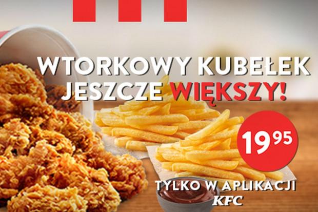 Wtorkowy Kubełek KFC znów w promocji